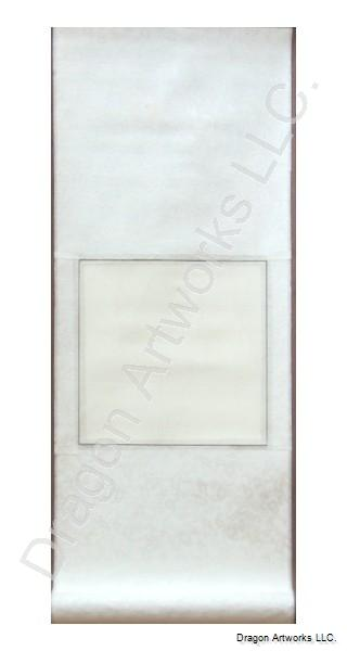Small White Chinese Blank Paper Scroll