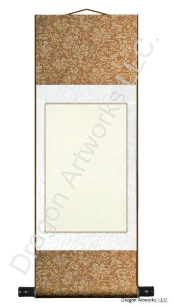 Copper/White Blank Paper 11x29 Inch Scroll