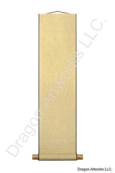 Blank Japanese Scroll Tanzaku Hanging Scroll